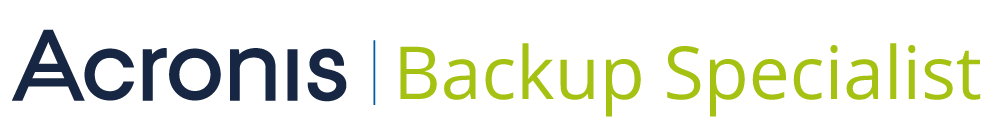acronis backup specialist