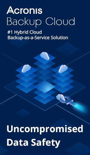 Acronis Backup Cloud Digital Banner 300x600